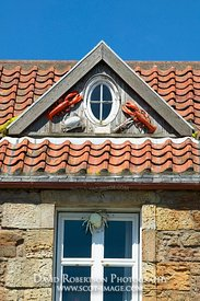 Image - Lobsters and window, Crail, East Neuk of Fife, Scotland.