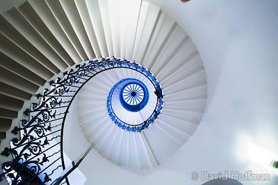 Open House Weekend London: Open House Weekend London: The Tulip Stairs in the Queens House, Romney Road, Greenwich. This summ...