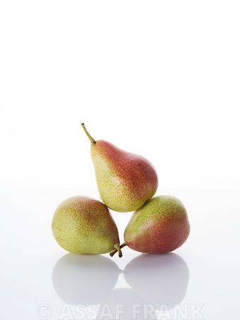Stack of pears