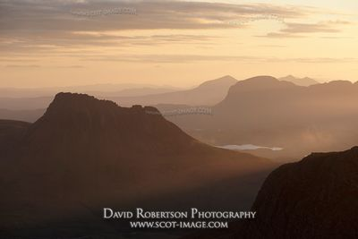 Image - Stac Pollaidh and Suilven at dawn, Scotland