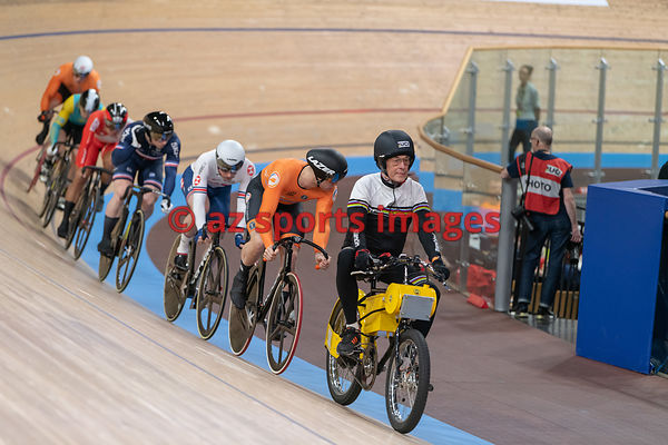 Men's Keirin semifinals - LAVREYSEN Harrie (NED)
