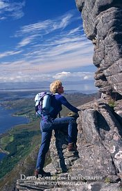 Image - Scrambling on Liathach, Torridon, Mountain