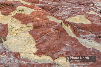HEYSHAM 36A - New Red Sandstone with reduction reactions