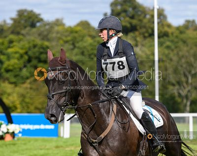 Ginny Howe and TANGO BLU - Cornbury House Horse Trials 2020