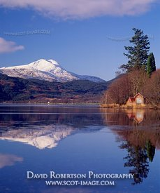 Image - Ben Lomond reflected in Loch Ard, Scotland