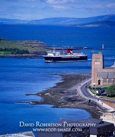 Image - Caledonian MacBrayne ferry arriving at Oban, Argyll, Scotland