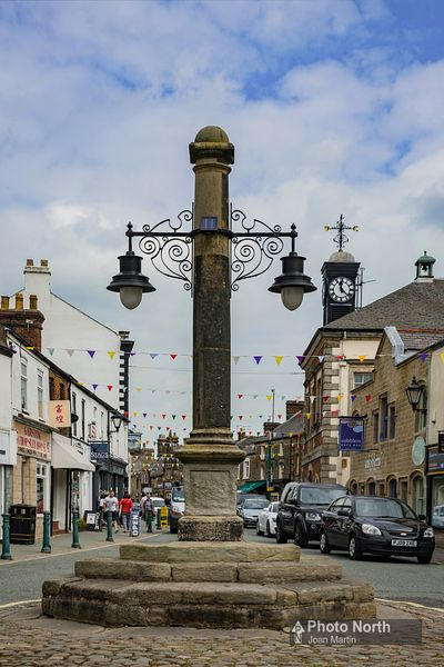 GARSTANG 01A - The Market Cross