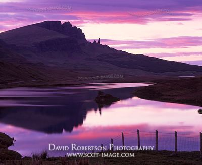 Image - Old Man of Storr, Trotternish, Skye, Scotland, sunset