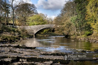 STAINFORTH 09A - River Ribble and Stainforth Bridge