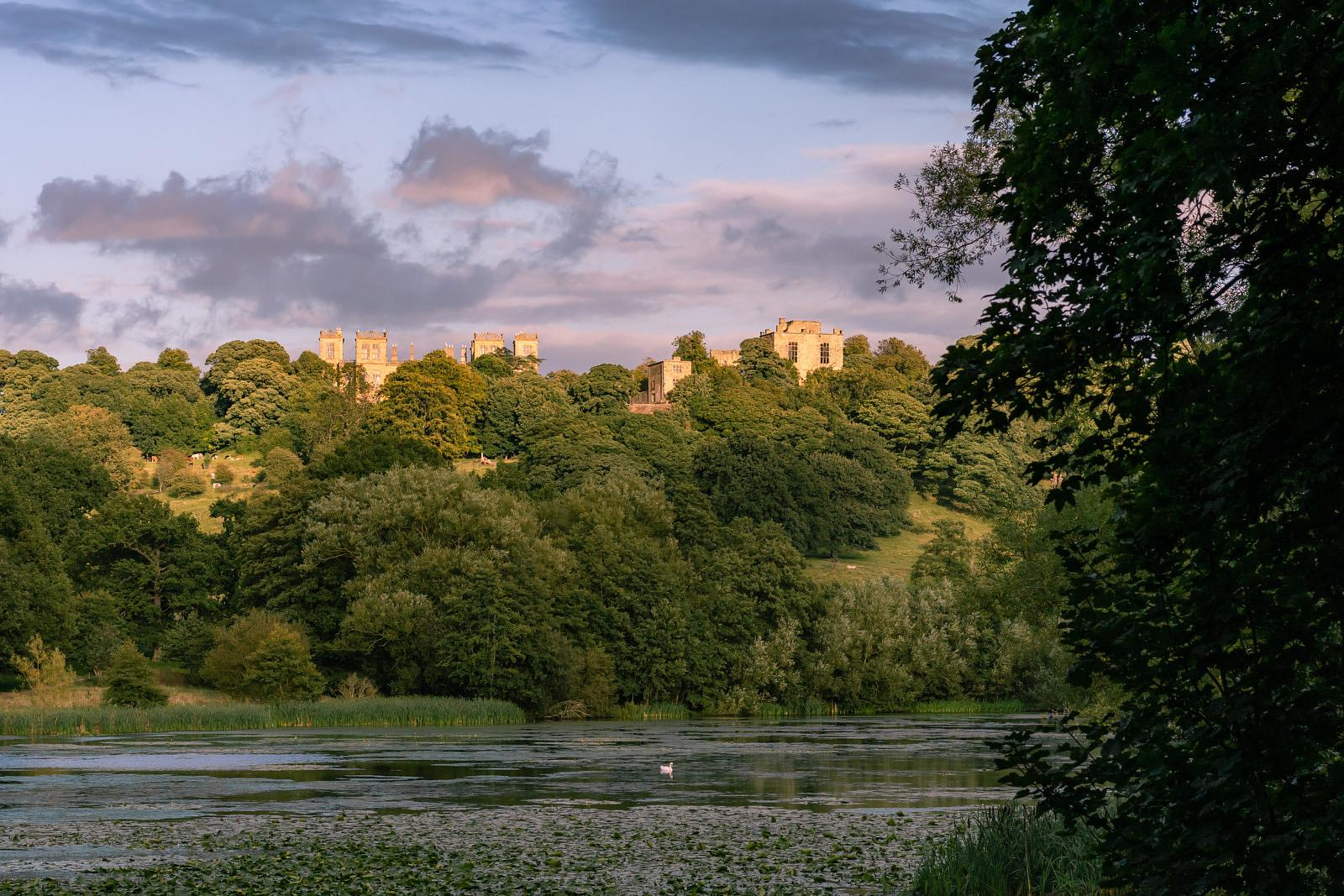 Hardwick Hall sunset