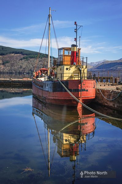 INVERARAY 25B - The Vital Spark from TV's Para Handy