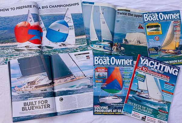 AN AUTUMN FLURRY IN THE YACHTING PRESS