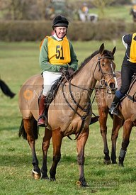 Tom Kingston. The Melton Hunt Club Ride 17/2