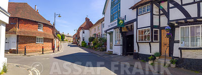 Street in a village, Petworth, West Sussex