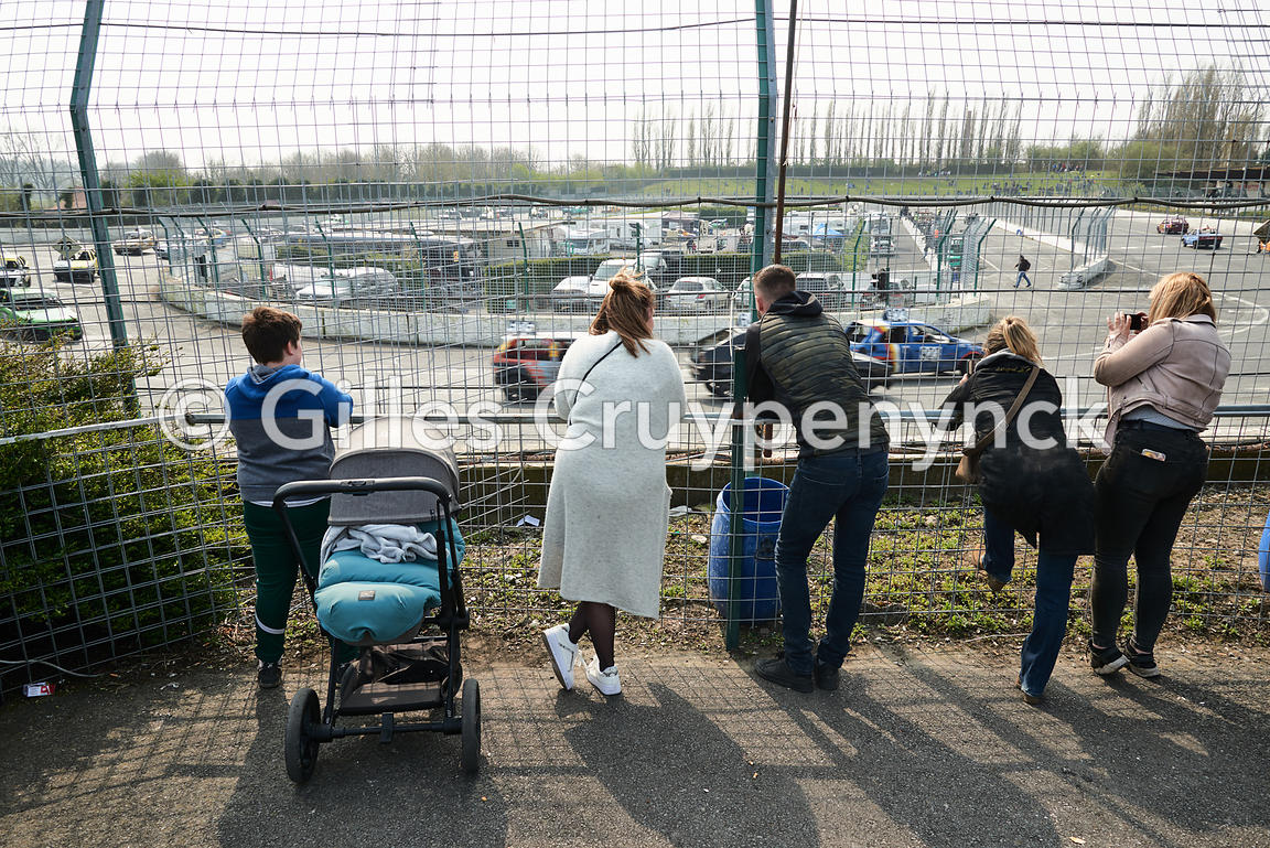 Circuit de course automobile Camso speedway de Comines-Warneton (Belgique).