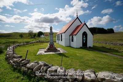 Image - Syre Church in Strathnaver, Sutherland, Scotland