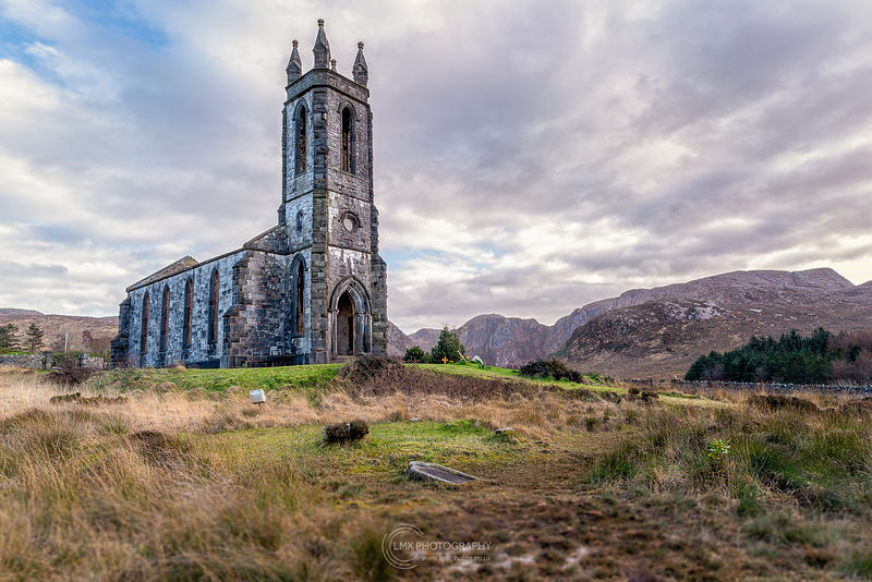 Dunlewey Church Cloudy Day