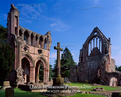 Image - Dryburgh Abbey, Transcepts, Borders, Scotland