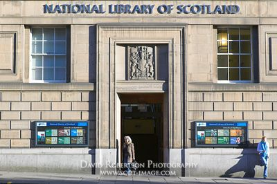 Image - The National Library of Scotland, Edinburgh