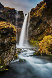 Iceland | Icelandic high waterfall wall decor