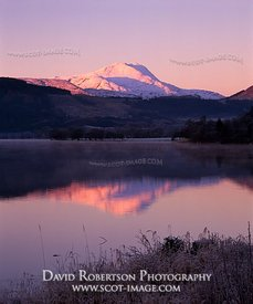 Image - Loch Ard and Ben Lomond, Scotland in winter