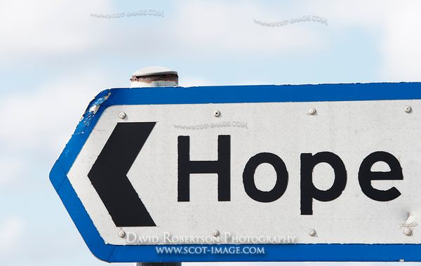 Image - Road sign to Hope