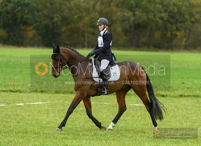 Abigail Boulton and ETERNAL TANGO VON DER HELD - Oasby (2) Horse Trials 2020