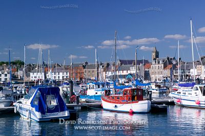 Image - Anstruther harbour, East Neuk of Fife, Scotland.