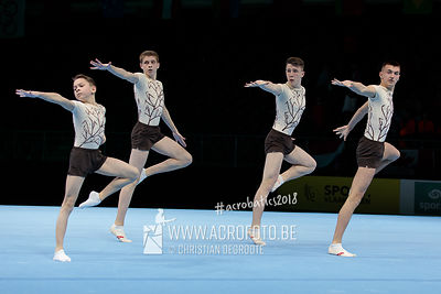 AG 13-19 Men's Group Ukraine - Balance