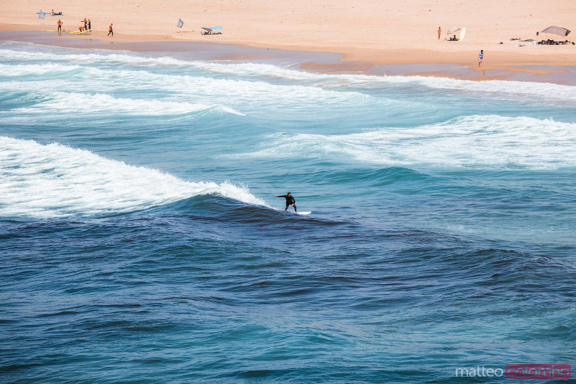 Surfer, Atlantic ocean, Algarve, Portugal