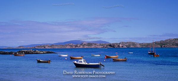 Image - View across the Sound of Iona towards Mull, Scotland