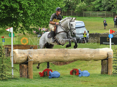 Andrew Nicholson and AVEBURY - Equitrek Bramham International Horse Trials 2012