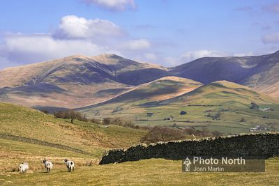 FIRBANK 03A - The Howgills from Firbank Fell