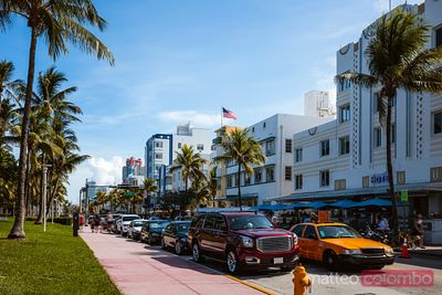 Ocean Drive at daytime, Miami, Florida, United States