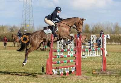 Emma Hyslop-Webb and DARRANT. Oasby (1) Horse Trials 2020
