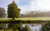 September mists at Chatsworth