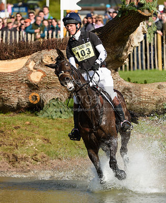 William Fox-Pitt and ORATORIO, cross country phase, Mitsubishi Motors Badminton Horse Trials 2019