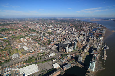 Liverpool Great Britainaerial photograph