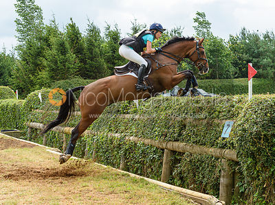 Millie Dumas and KEC DEAKON - Aston Le Walls Horse Trials 2019.