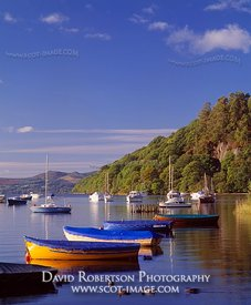 Image - Loch Lomond at Balmaha boatyard, View towards Inchcailloch