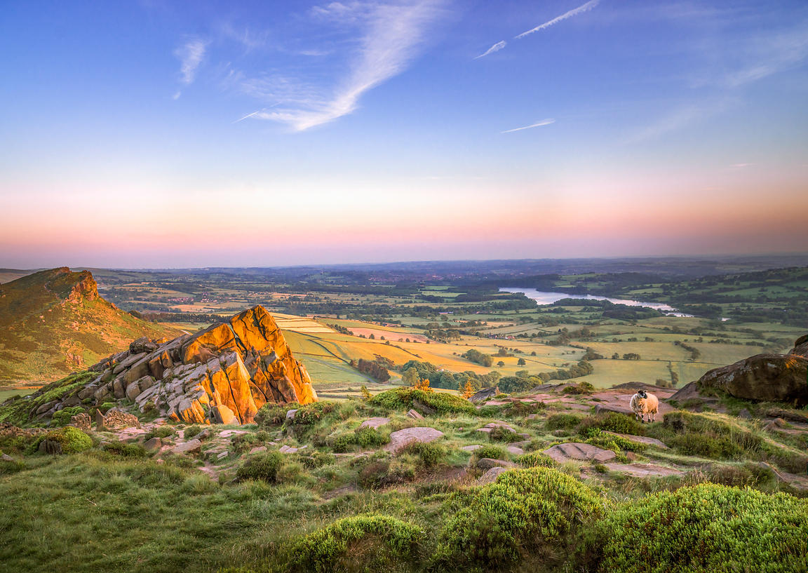Last light on the Roaches