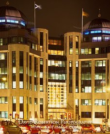 Image - Standard Life House, Lothian Road, Edinburgh, Illuminated