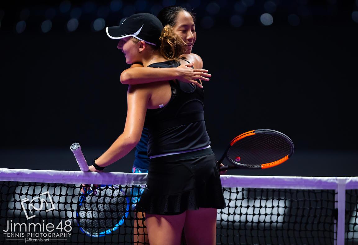 Photo 2019 Wta Finals Tennis Shenzhen China Oct 27