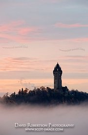 Image - The National Wallace Monumemt in mist, Stirling