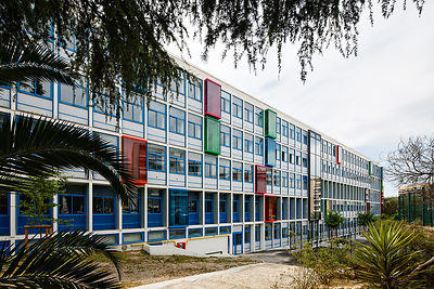 IN.SITU Benaïm + Nivaggioni architectes - Matthieu Marin Architecte - Restructuration & extansion Lycée Audiberti - Antibes