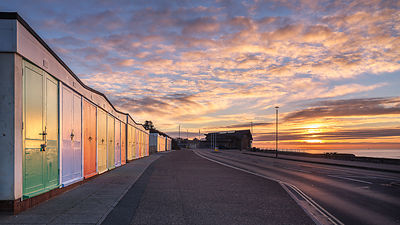 Maer_beach_huts_-_Exmouth