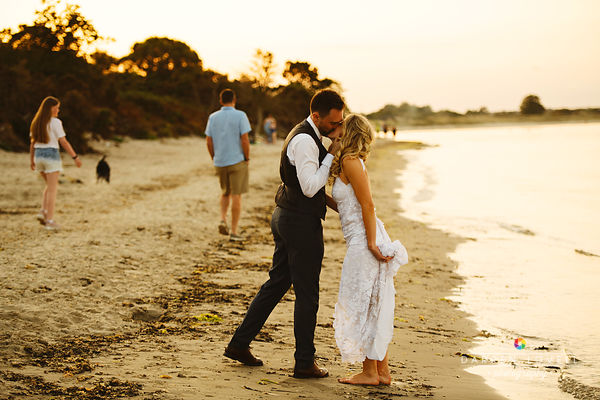 Imogen & Aidan - Studland Bay House Wedding