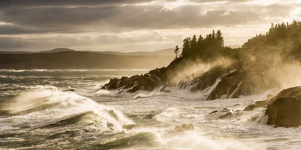 Rough sea at green Cove