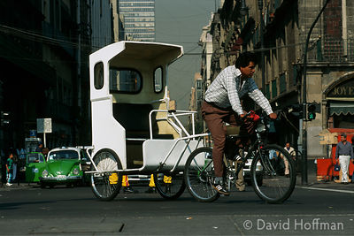 Cycle Rickshaw Mexico 1