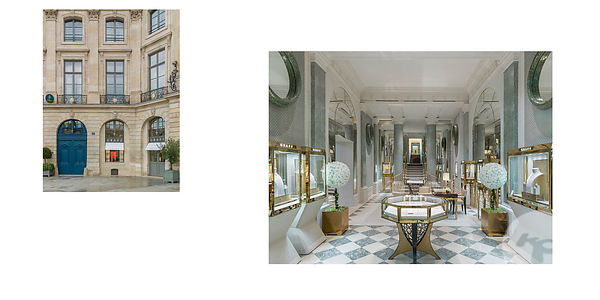 RETAIL PHOTOGRAPHER PARIS : GRAFF RITZ VENDOME PARIS By PETER MARINO
